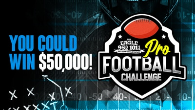 Win $50,000 with The Eagle's Pro Football Challenge