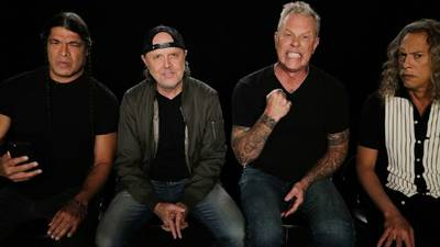 Metallica streaming full audio from surprise San Francisco & Chicago shows