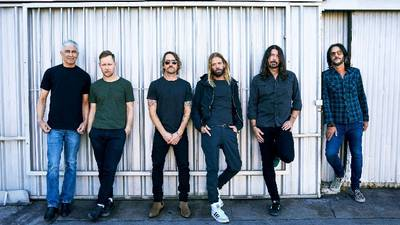 Foo Fighters bring mascot pandemonium to corporate event gig